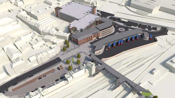 Lincoln transport hub will be driven by steel