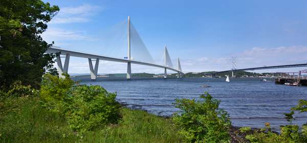 Clamps specified for Forth Crossing