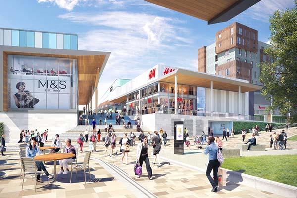 Steel makeover for Bracknell town centre begins