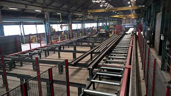 Fabrication shop expansion for Hambleton Steel