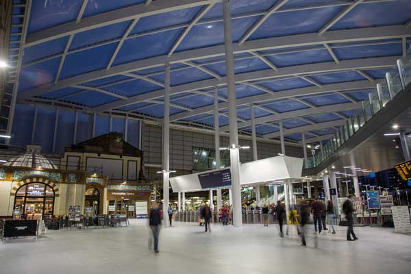 Renovated Manchester station reopens