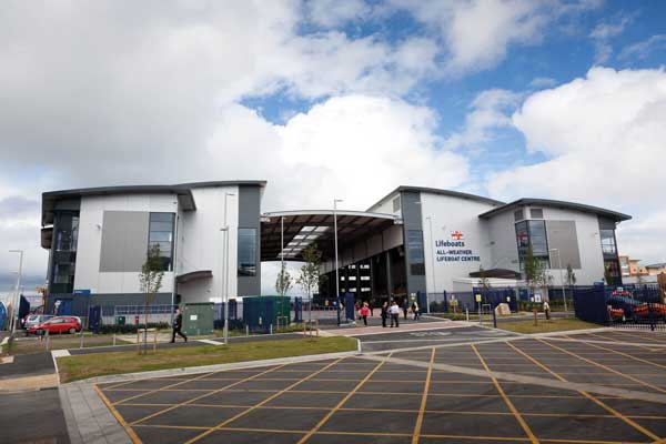 RNLI Poole lifeboat centre begins operations