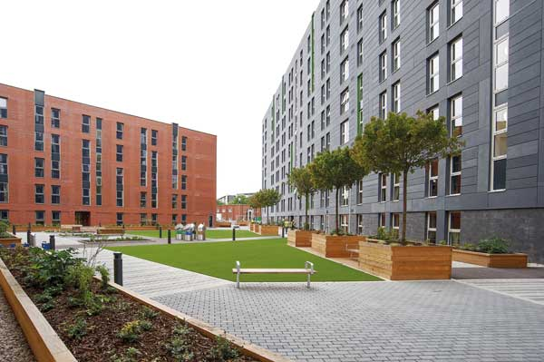 Salford's Excellent student residences open their doors