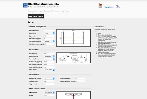 Composite beam checking tool upgraded