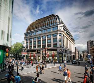 Visualisation of the completed LSQ London