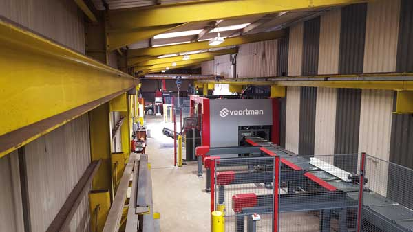 North Wales steelwork contractor continues to invest in new automated CNC equipment