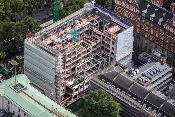 Steel completed for Metropolitan Police headquarters