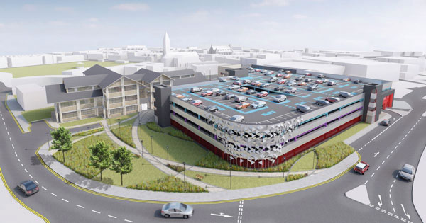 Upgrade for Welsh town centre relies on steel