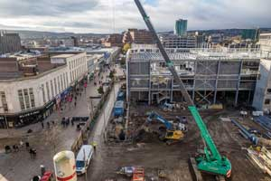 The project forms a central element of Sheffield's wider regeneration plans