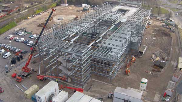 Steel proves a safe bet for Stoke headquarters