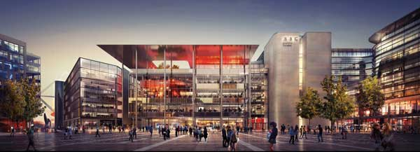 BBC Wales opts for a steel-framed HQ