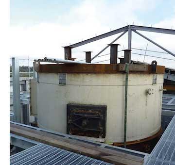 Galvanizing helps revitalize carbon plant