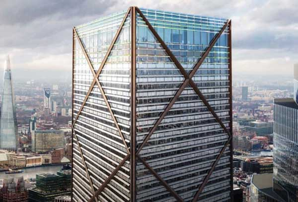 Plans submitted for City of London's tallest tower
