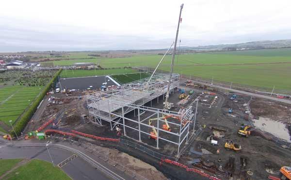 Scottish academy starts with steel