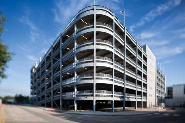 Steel drives quick car park delivery