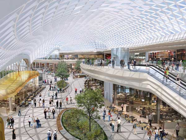£300M steel-framed expansion of Sheffield's Meadowhall shopping centre revealed.