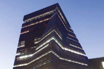 The completed Tate Modern Extension