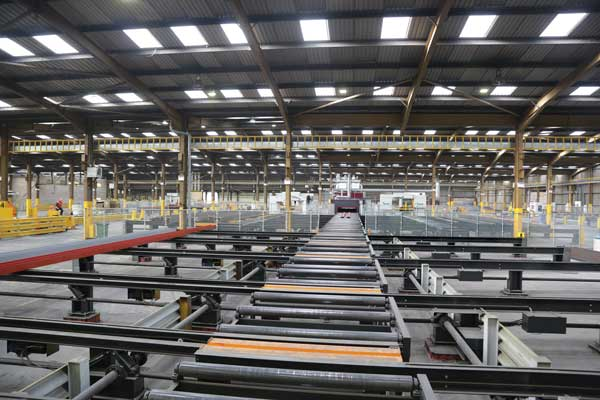 £5M processing equipment investment made by steel stockholder