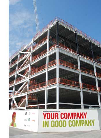 Former gas works site reborn with steel