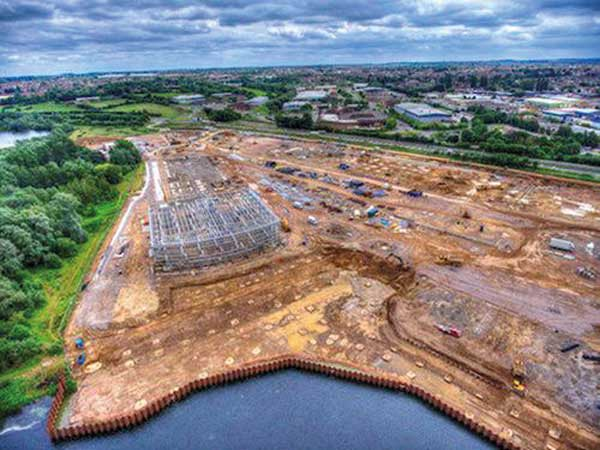 Nene Valley tourist site rises up with steelwork
