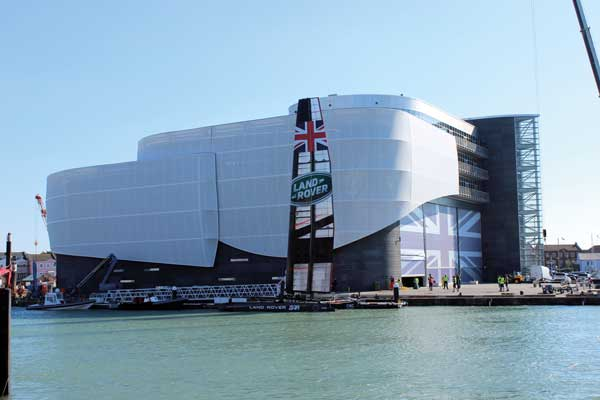 Commendation: Land Rover BAR America's Cup HQ Building, Portsmouth