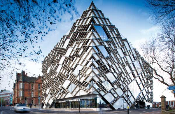 Commendation: The Diamond Engineering Building, The University of Sheffield