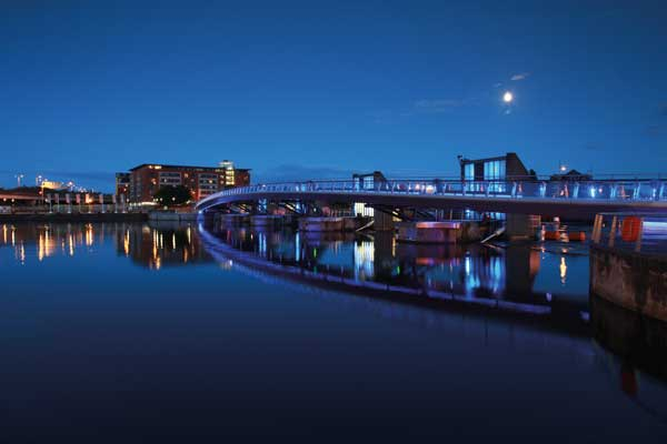 Commendation: Lagan Weir Pedestrian and Cycle Bridge, Belfast