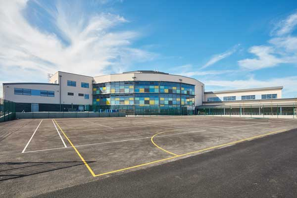 Flagship Welsh school opens to pupils