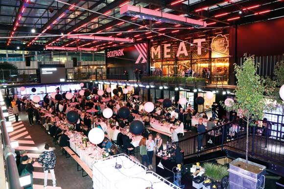 Boxpark Croydon officially opened at the end of October