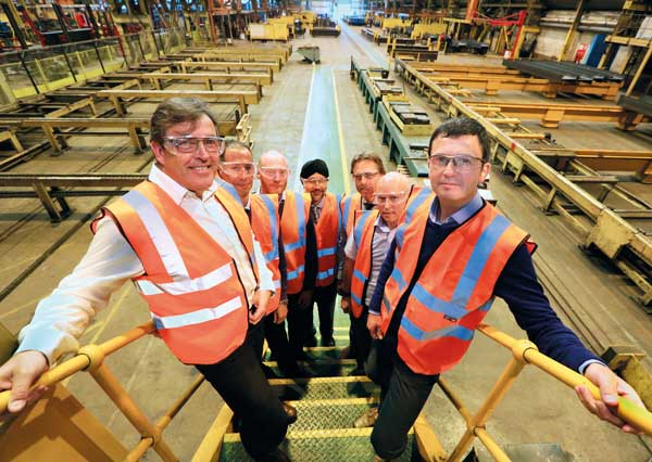 Steelwork contractor expands structures team