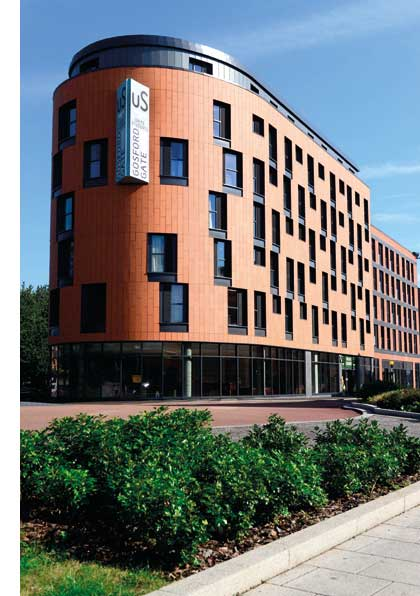 Student accommodation opts for Metframe