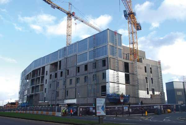 Steel completes on Birmingham Conservatoire