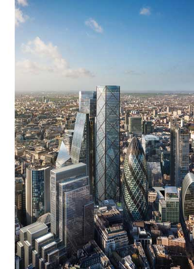 City of London's tallest tower gets the green light