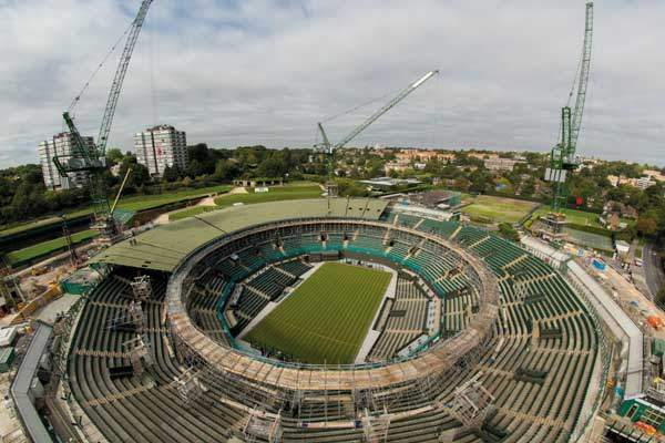 Second retractable roof for Wimbledon