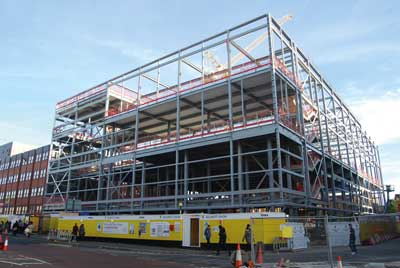 The project is located in the heart of Romford town centre