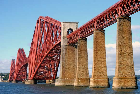 A durable steel structure - The Forth Rail Bridge (1890)