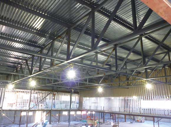 Steel Construction With Trusses Newsteelconstruction Com