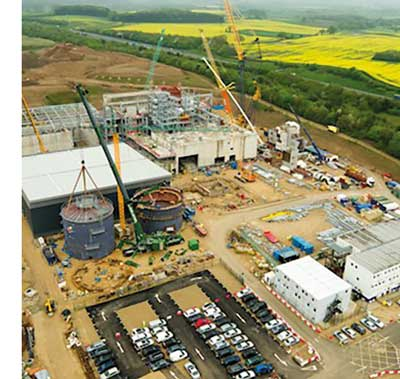 Galvanized solution for Yorkshire waste project