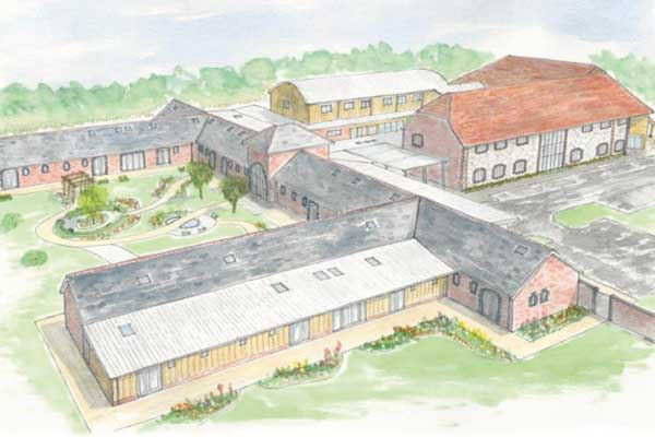Contractor appointed for Chichester hospice