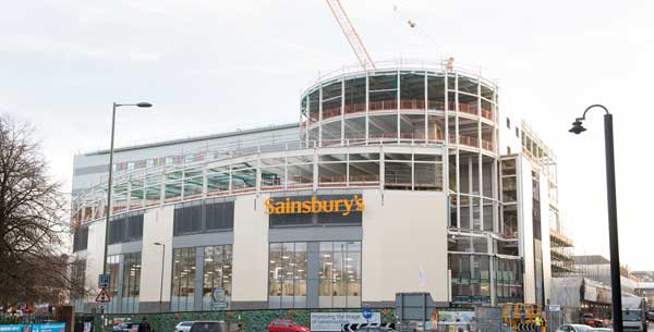 Redhill retail scheme progressing on schedule