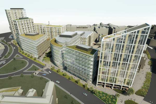 New mixed-use scheme for Sheffield city centre