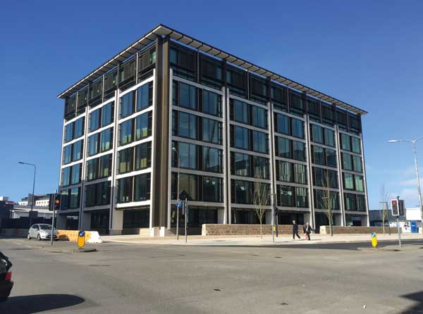 First office building for Jersey finance centre completes