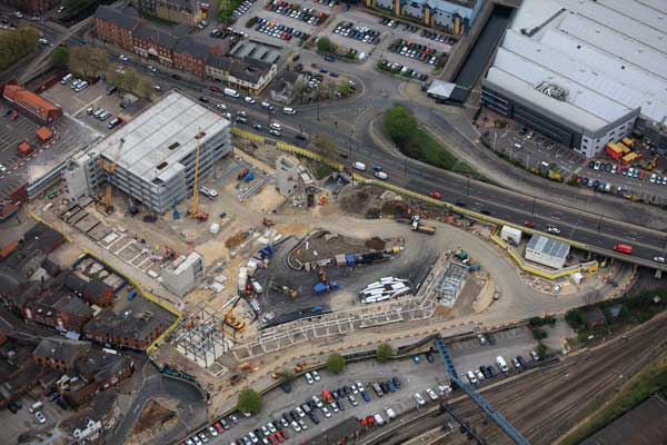 Lincoln transport hub takes shape