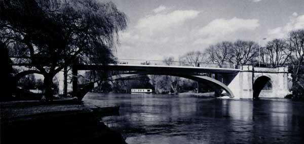 Attractive new bridge at Windsor