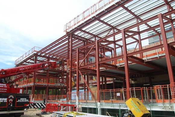 Top marks for steel frame