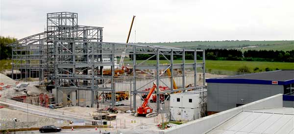 Steel rises on Oxfordshire science project
