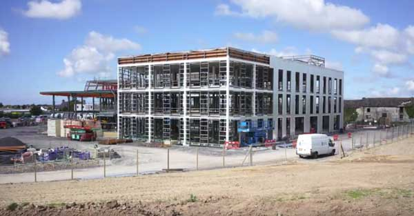 Anglesey gets steel-framed science park