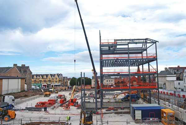Council offices under way in North Wales