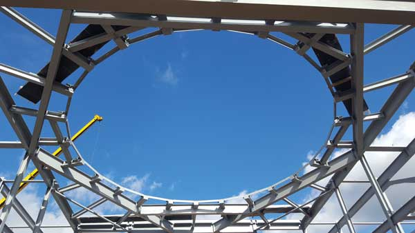 Steel completes at west London school