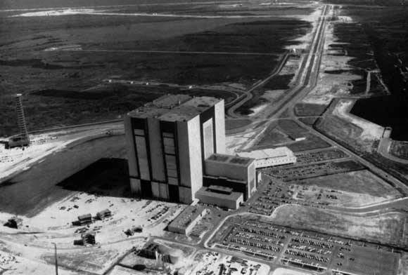 1,000,000 tons of steel in America's spaceport